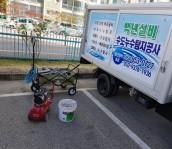 안동시 공사현장 배관공사 마감